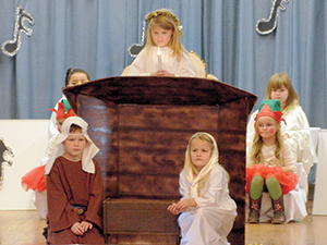 Holiday pops at Cliffside Elementary