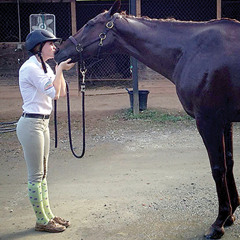 Local youth equestrian's drive leads  to stellar performance at TIEC