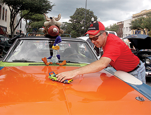 25th Annual Hot Nights  Cool Rides Car Show held