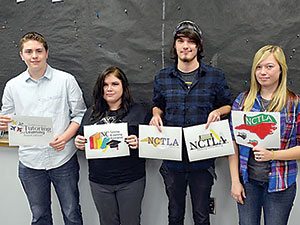 Four students take top five places in statewide logo contest