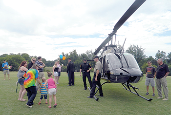 The 19th Annual Kids & Cops event was held June 24  at the Charles Summey Park in Forest City