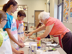 Kids & Chefs camp held at Cooperative Extension