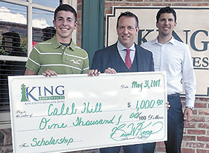 King Law Awards $1,000 Scholarship