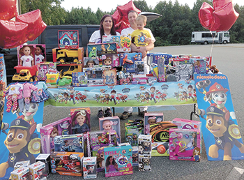 Grateful Family Pays It Forward,  Establishes Korben's Toy Drive