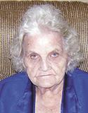 Laverne Padgett Laws, age 94