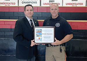 Deputy Lee Completes Program at N.C. Justice Academy
