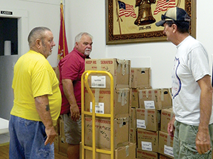 American Legion Post 423 donates items to VA Medical Center