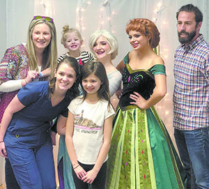 'Frozen' party for 4 year-old Make-A-Wish recipient
