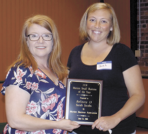 2018 Marion Business  of the Year