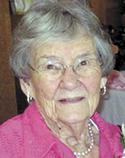 Mary Gladys Thompson Sams, 107