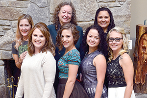 Seven students graduate from massage therapy program
