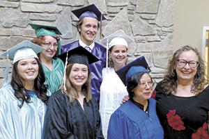 Six students graduate from massage therapy program