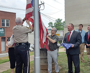 Flag flown over U.S. Capitol calls Rutherford County home