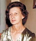 Mrs Marjorie Katherine Gettys Montieth age 81