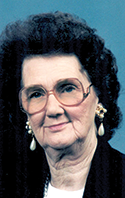 Margie Edwards Horne, 95