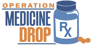 Save the date! Operation Medicine Drop  Saturday, March 24; 10am-2pm