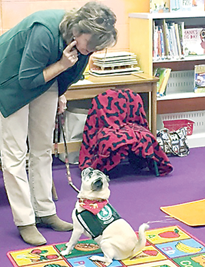 Mountains Branch Library hosts Paws for Reading