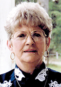 Peggy Jean Vickers Weeks, age 75