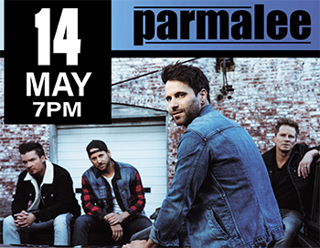 Chart-Topping Country Music Stars Parmalee to Perform at POPS