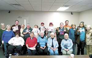 Rutherford County Pilot Club sponsors art show at Rutherford Life Services
