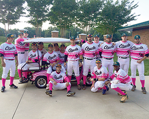 Pink Out at McNair Field July 18