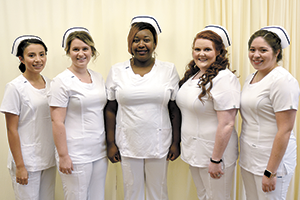 Practical Nursing students pinned during ceremony