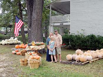 Couple brings new life  to 'pumpkin center'