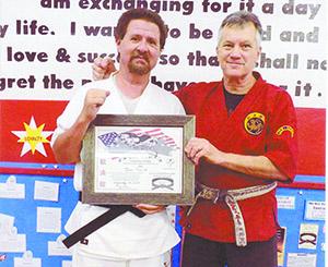 Black Belt 1st Degree Earned