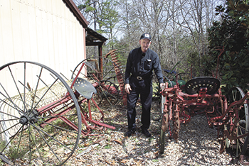 John Turner's Antique Plow Collection Becomes Permanent Part of North Carolina History