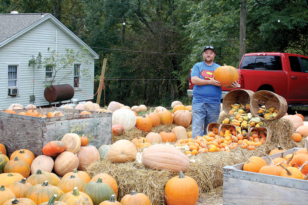 The Pumpkin Man Of Rutherford County!