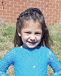 Nathaly Roman Rodriguez, age 3