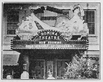 Local non-profit seeks to restore Romina Theatre