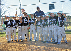 Rutherford Baseball Academy 9U captures 1st place in travel tournament at  Catawba Meadows Park