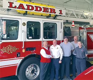 State officials award Rutherfordton fire district a 4 Rating