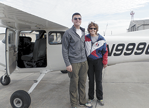 Civil Air Patrol helps cadet gain solo wings