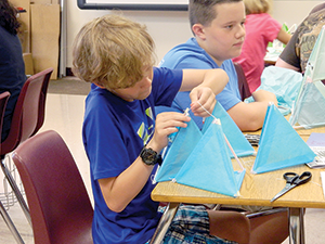 Annual camp gives students opportunity to explore STEM