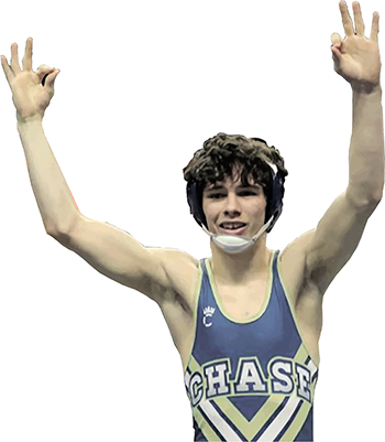 Sammy Peticos; 3 Time State Champ