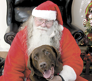Santa Paws in Forest City