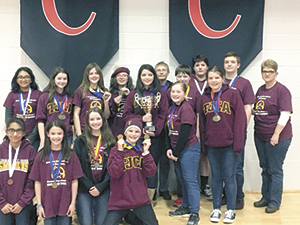 TJCA Middle School Science Olympiad Team wins Regionals