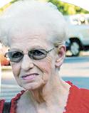 Shirley Webb Hodge, age 78