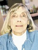 Shirley Brock Evans, age 84