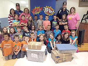 Students help Shriners Hospital