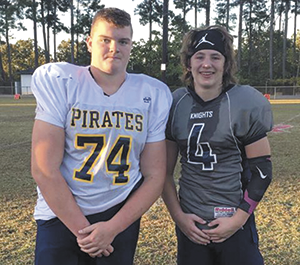 Two selected to Youth Shrine Bowl