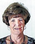Mary Sue Self Robbins, age 77