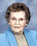Virginia Blanton Holland, 95