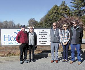 Whitaker Family Renames Hospice Center of Living