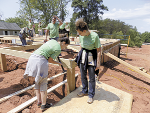 Rutherford County Habitat for Humanity and Lowe's team up for 10th annual National Women Build Week