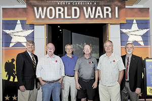 NC Museum of History Welcomes Rutherford County Visitors to World War I Centennial Exhibit