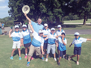 Youth take part in PGA  Junior Golf