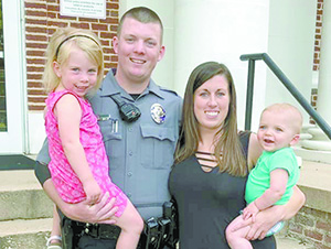 Fund raising for Forest City Police Officer Zachary Arrowood